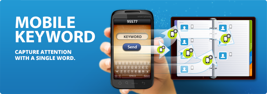 MOBILE KEYWORD CAPTURE ATTENTION WITH A SINGLE WORD.