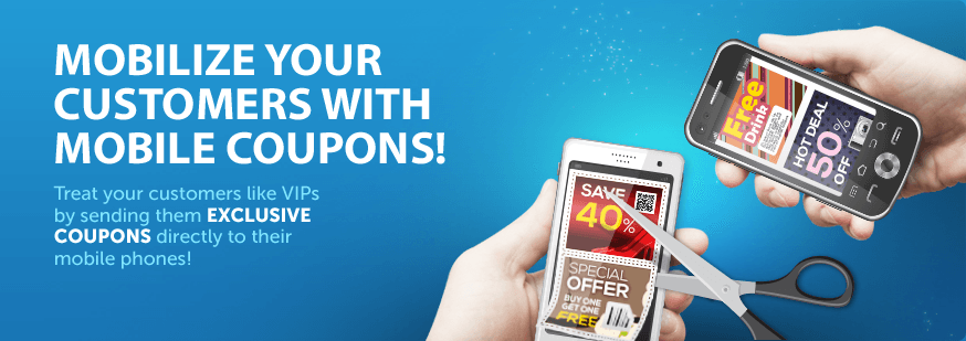 Enhance your marketing with mobile coupons